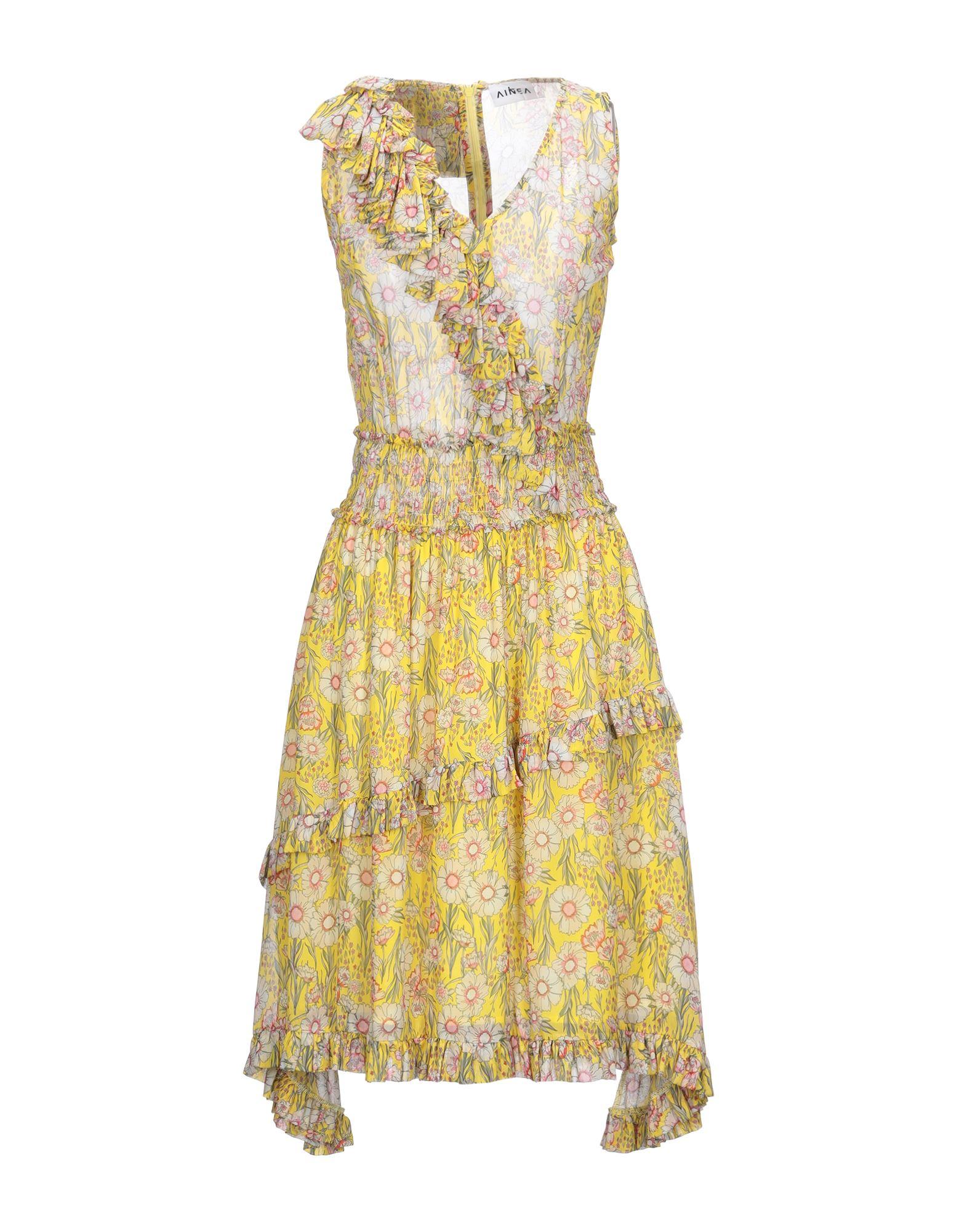 AINEA Платье до колена фото