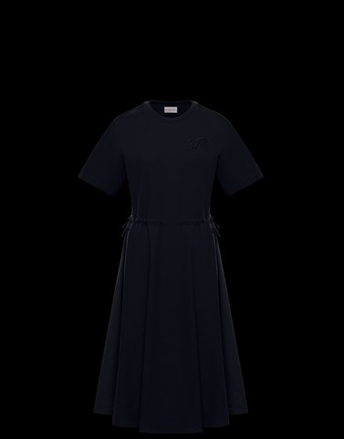 DRESS Dark blue Category Dresses Woman