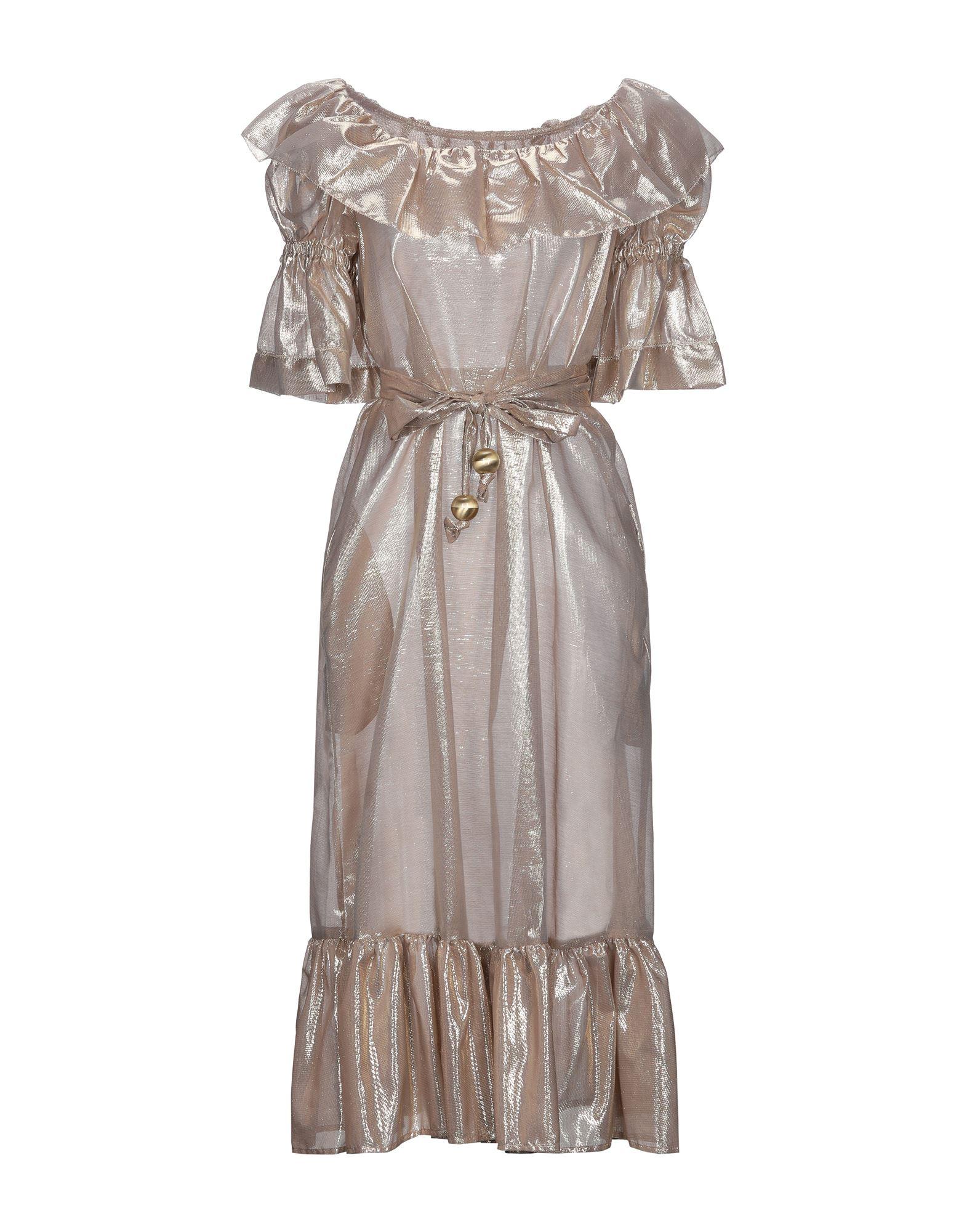 LISA MARIE FERNANDEZ Платье длиной 3/4 lisa marie fernandez длинное платье