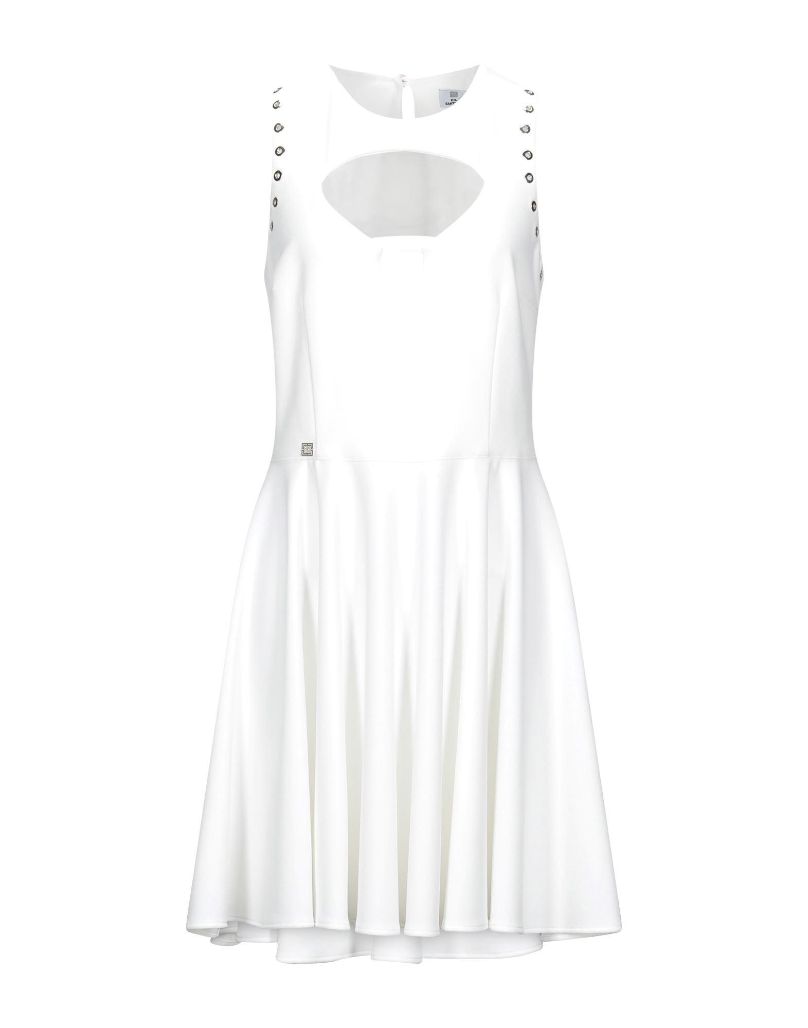 Фото - GIL SANTUCCI Короткое платье gil santucci комбинезоны без бретелей