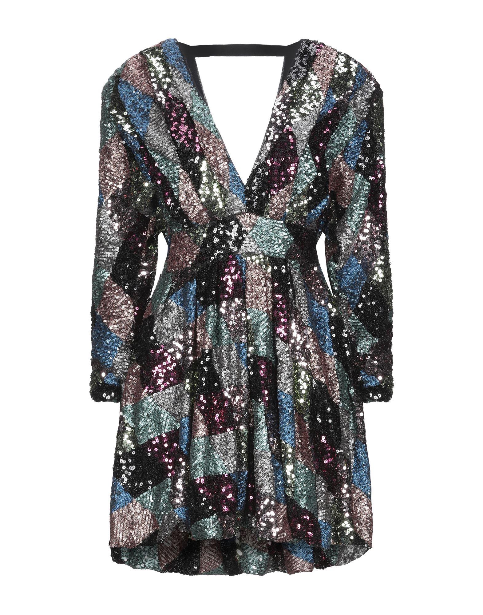 W LES FEMMES by BABYLON Короткое платье pour les femmes длинное платье