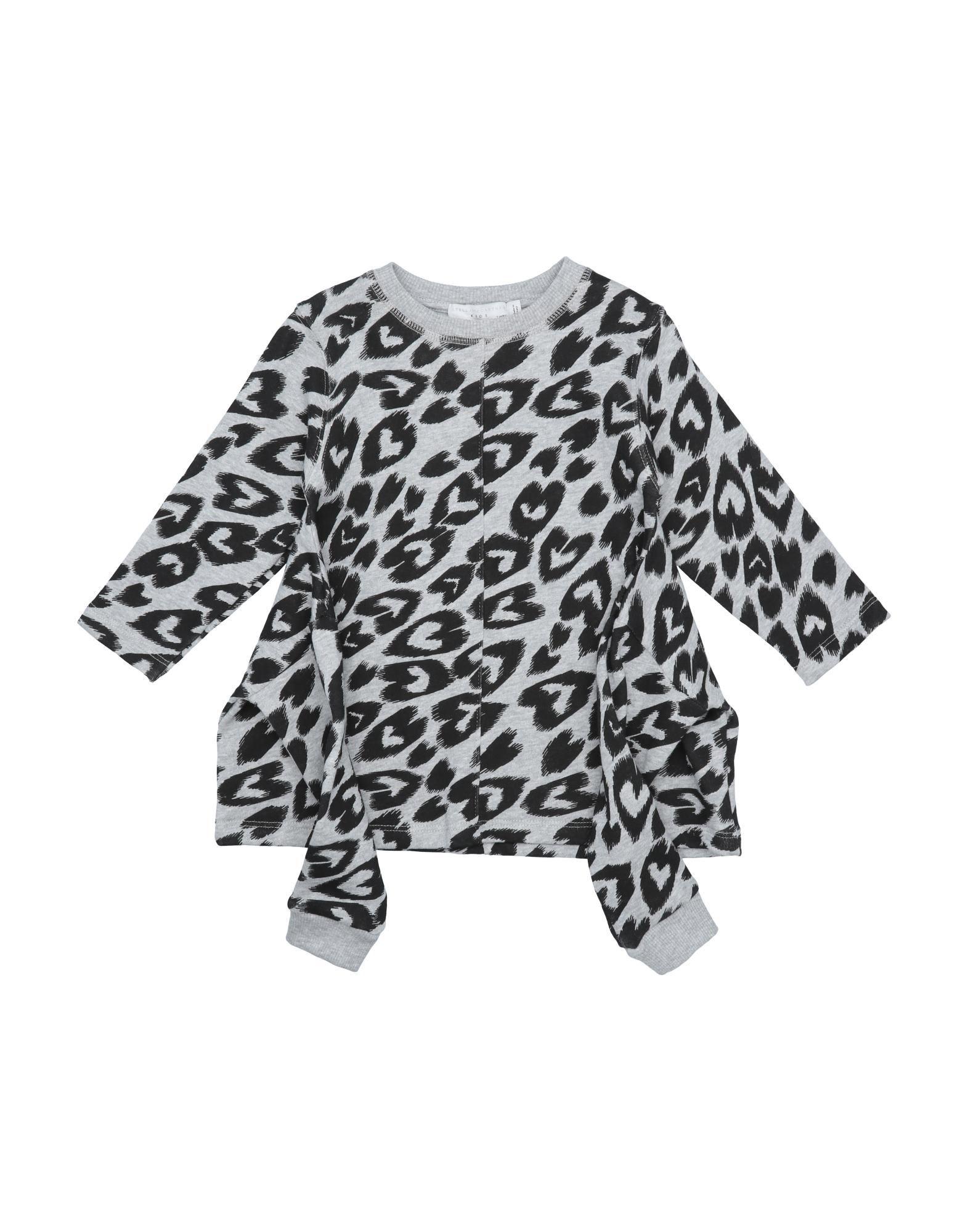 《セール開催中》STELLA McCARTNEY KIDS ガールズ 0-24 ヶ月 ワンピース・ドレス グレー 24 コットン 100% / ポリウレタン