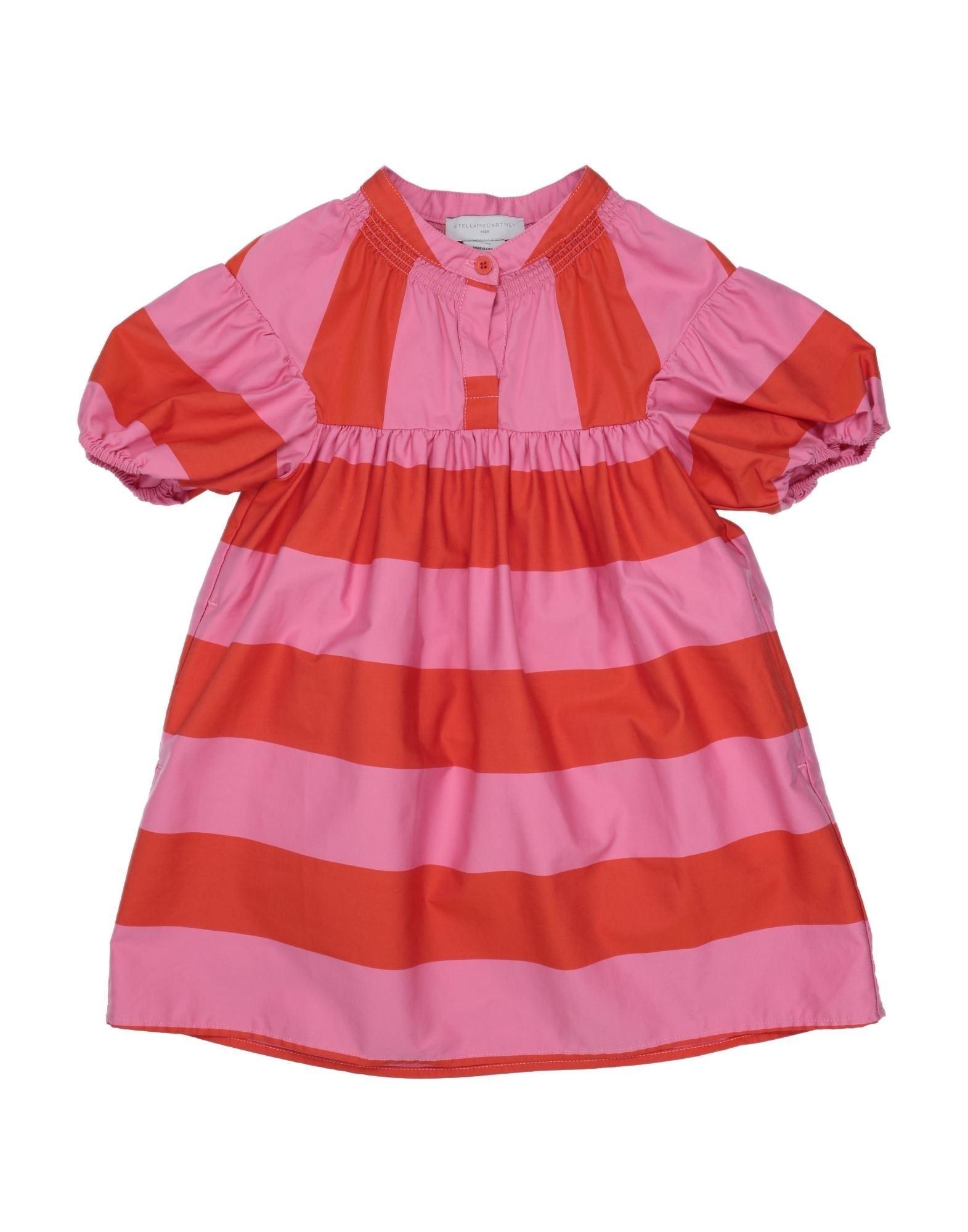 《セール開催中》STELLA McCARTNEY KIDS ガールズ 3-8 歳 ワンピース&ドレス ピンク 4 コットン 100%