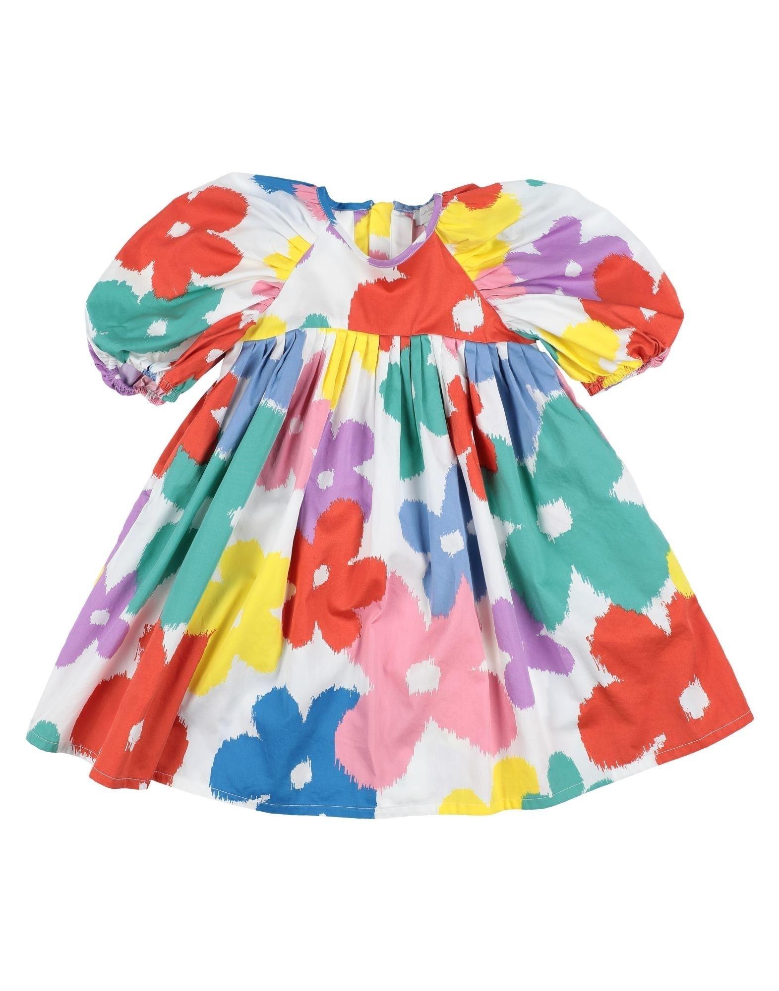 《セール開催中》STELLA McCARTNEY KIDS ガールズ 3-8 歳 ワンピース&ドレス ホワイト 8 コットン 100%