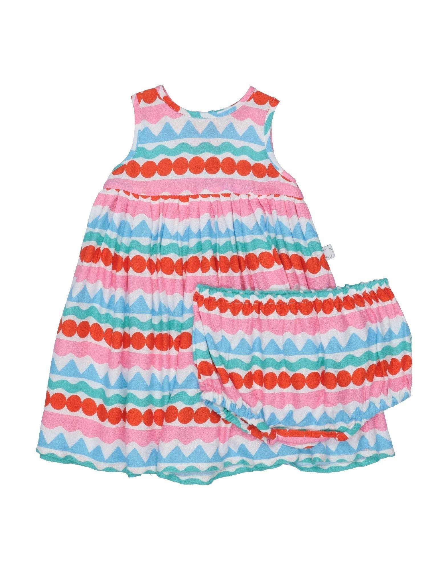 《セール開催中》STELLA McCARTNEY KIDS ガールズ 0-24 ヶ月 ワンピース・ドレス ピンク 3 レーヨン 100%