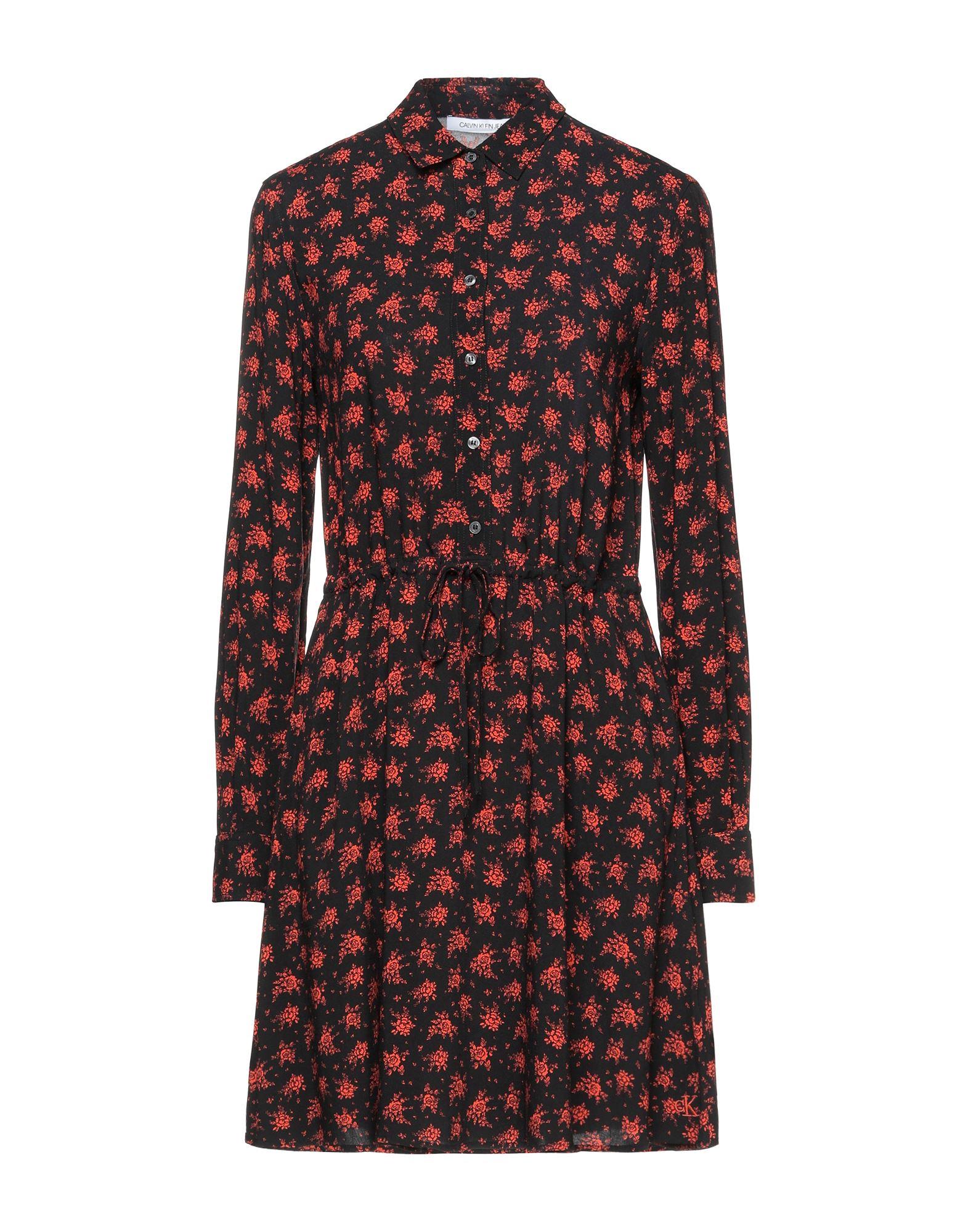 CALVIN KLEIN JEANS Короткое платье платье calvin klein jeans j20j2 08625 0990