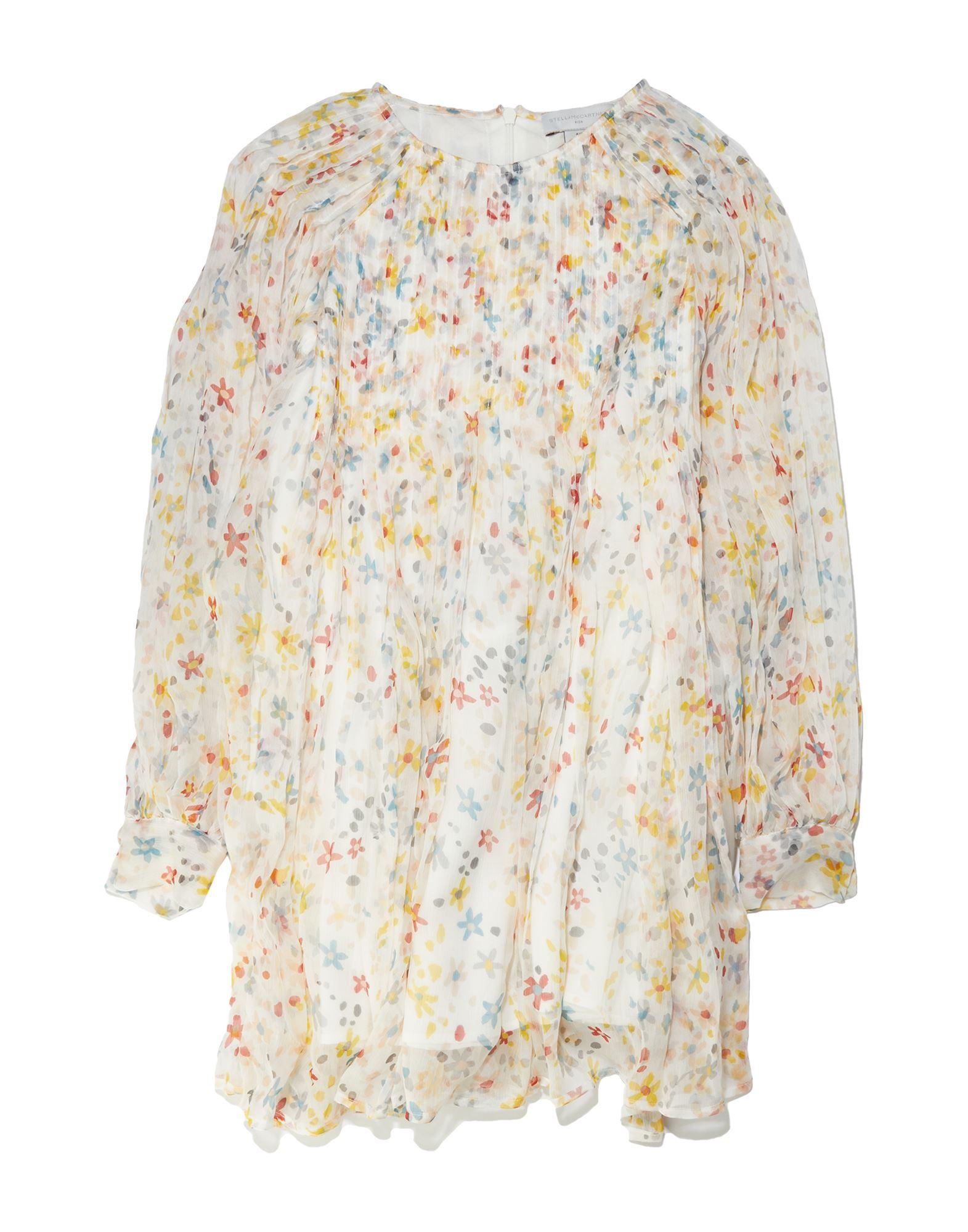 《セール開催中》STELLA McCARTNEY KIDS ガールズ 3-8 歳 ワンピース&ドレス ホワイト 5 シルク 100%