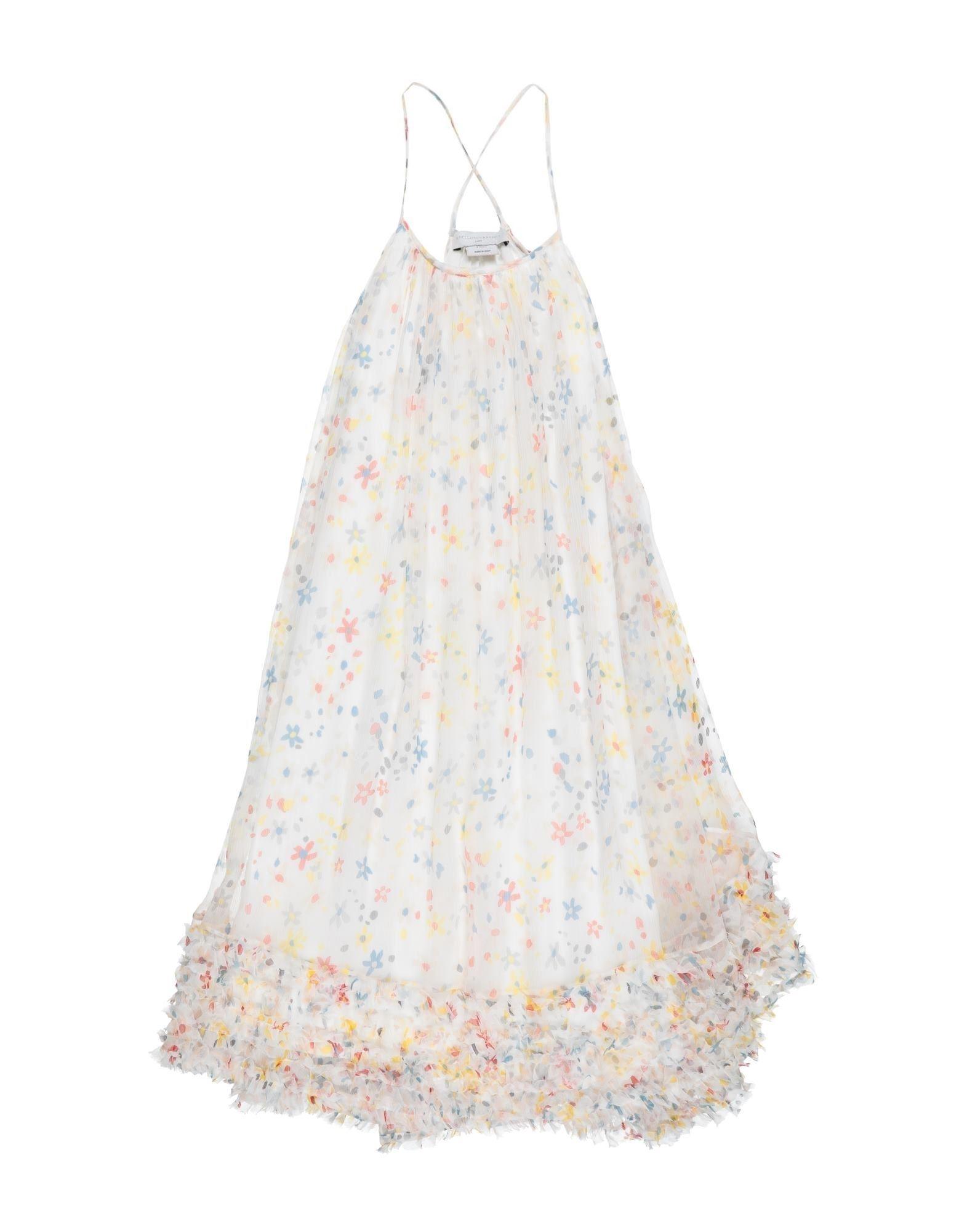 《セール開催中》STELLA McCARTNEY KIDS ガールズ 3-8 歳 ワンピース&ドレス アイボリー 4 シルク 100%