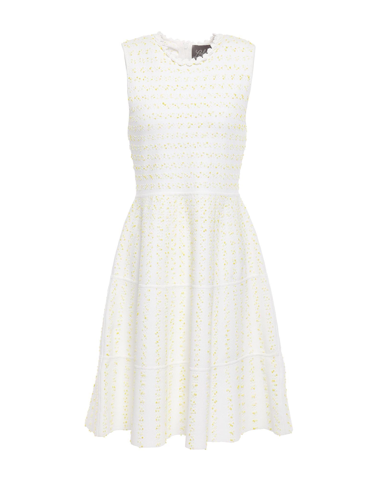 Фото - LELA ROSE Короткое платье lela rose платье длиной 3 4