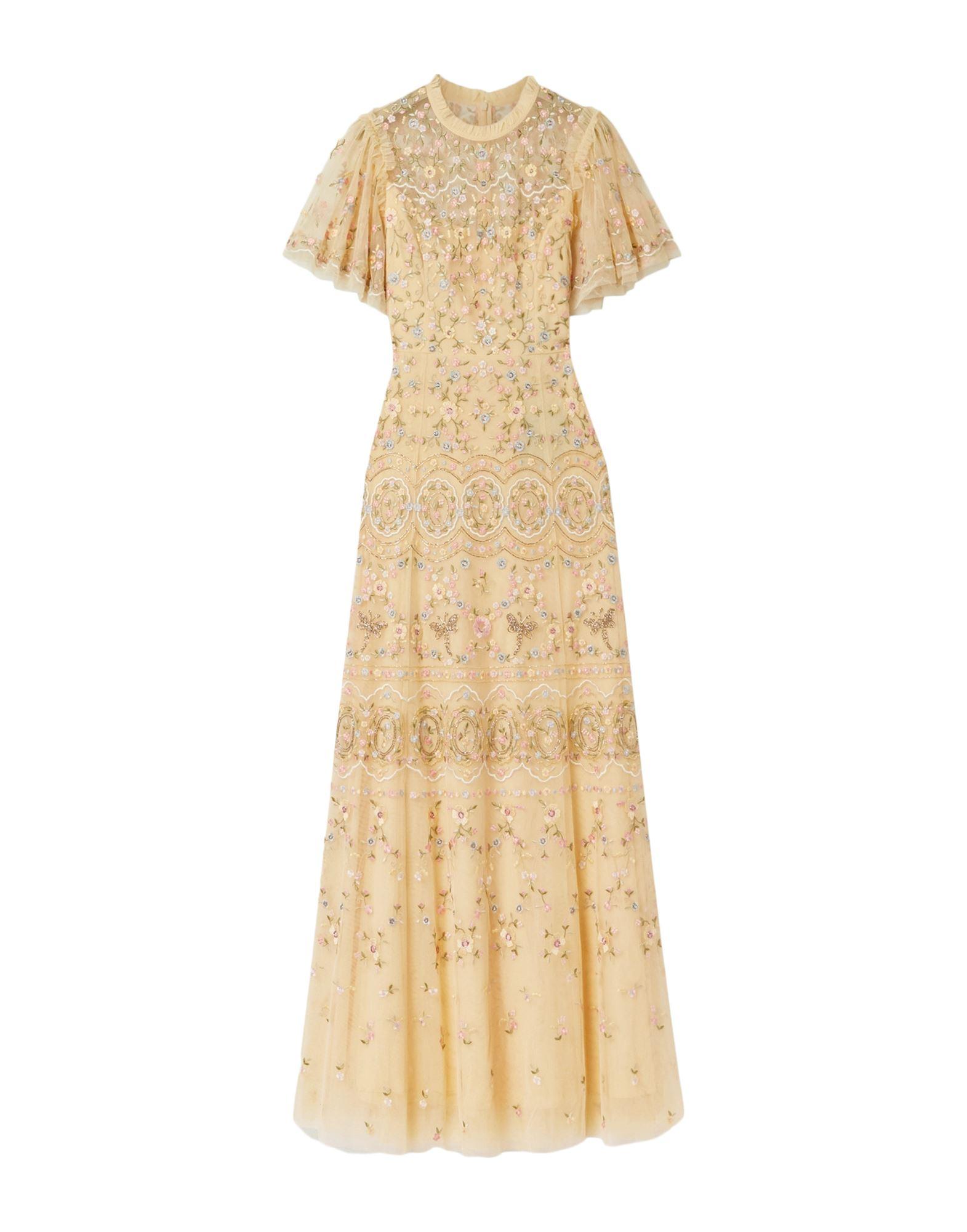 NEEDLE & THREAD Длинное платье фото