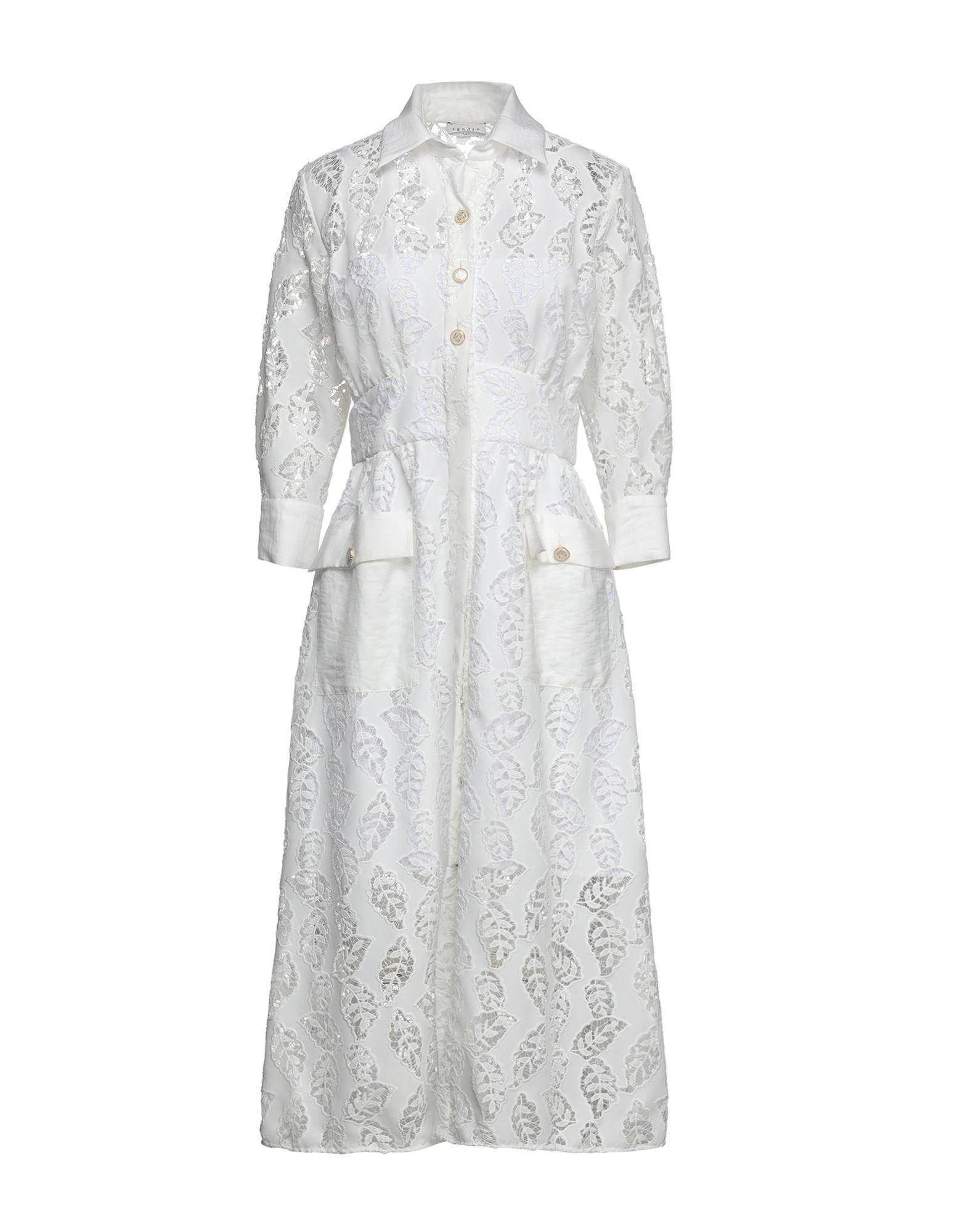 SANDRO Платье длиной 3/4 vionnet платье длиной 3 4