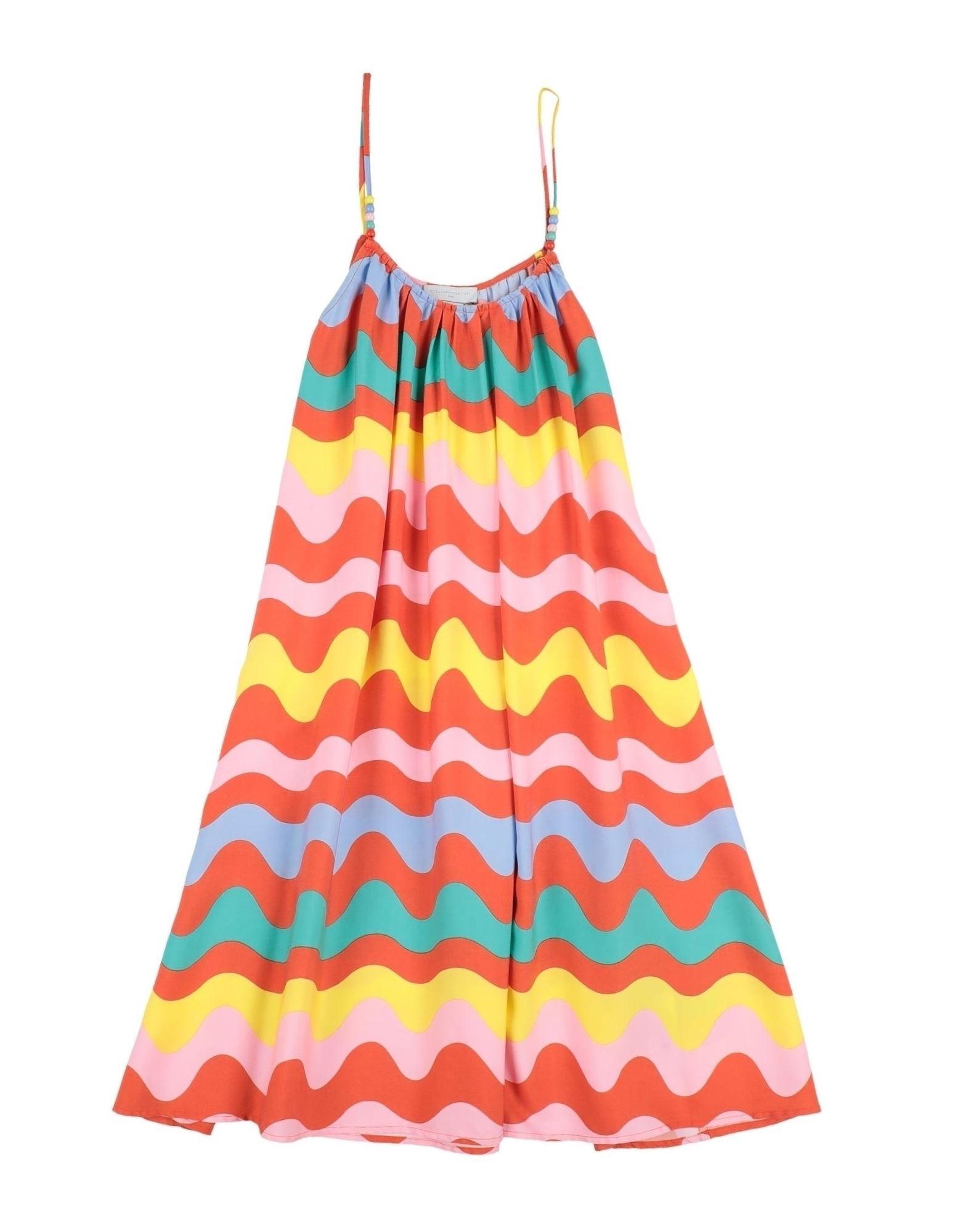 《セール開催中》STELLA McCARTNEY KIDS ガールズ 3-8 歳 ワンピース&ドレス オレンジ 4 テンセル 100%