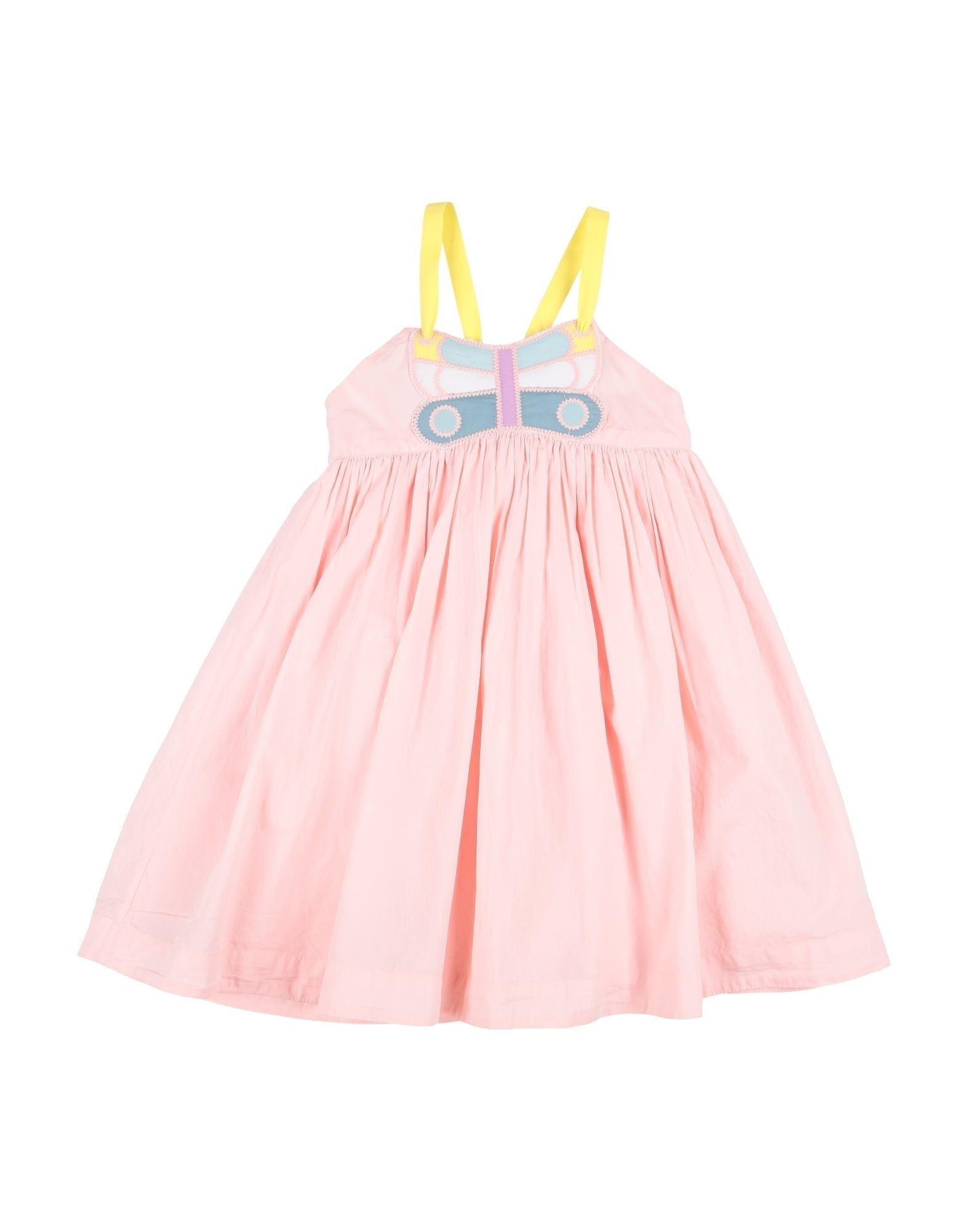 《セール開催中》STELLA McCARTNEY KIDS ガールズ 9-16 歳 ワンピース&ドレス ピンク 4 コットン 100% / ポリエステル