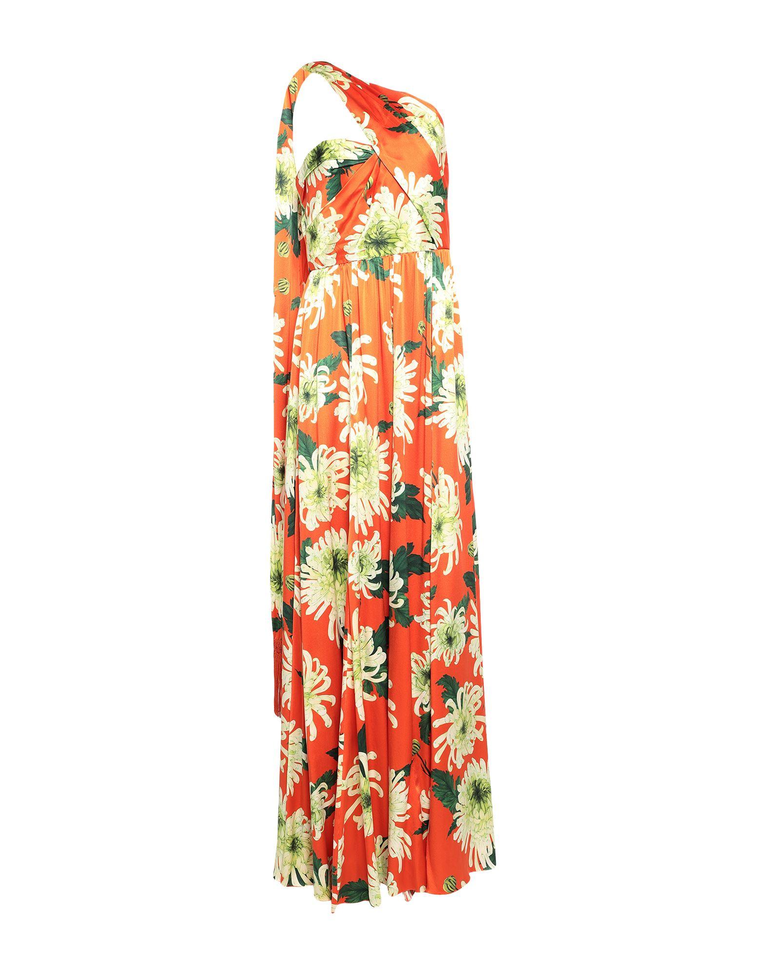 ANDREW GN Длинное платье фото