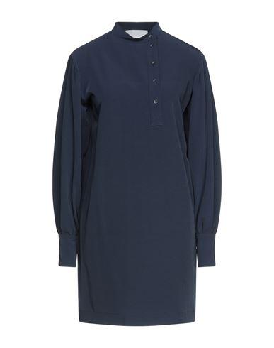 Короткое платье 8PM. Цвет: темно-синий