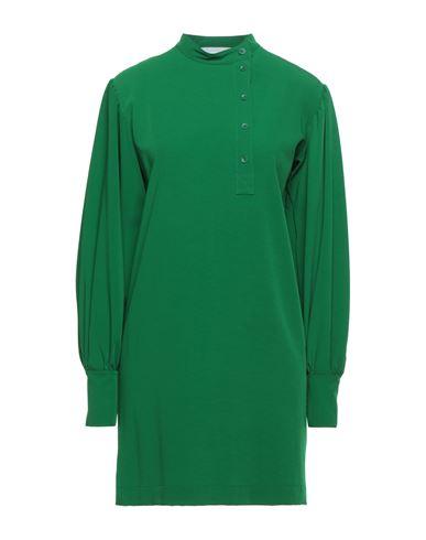 Короткое платье 8PM. Цвет: зеленый