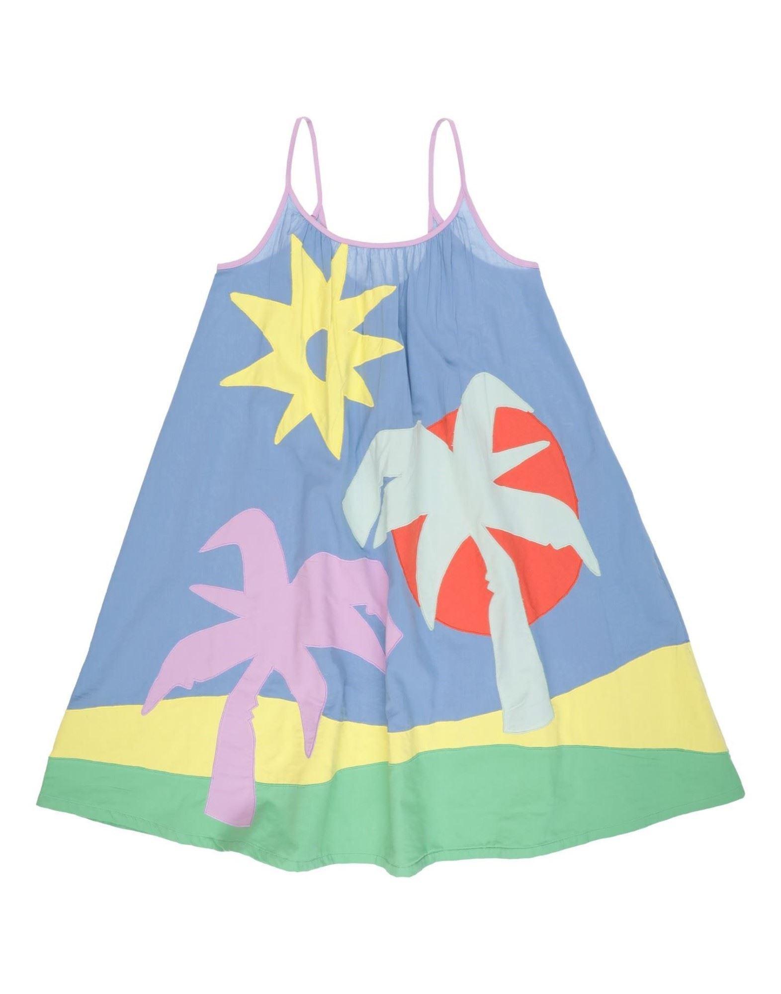 《セール開催中》STELLA McCARTNEY KIDS ガールズ 9-16 歳 ワンピース&ドレス パステルブルー 10 コットン 100% / ポリエステル