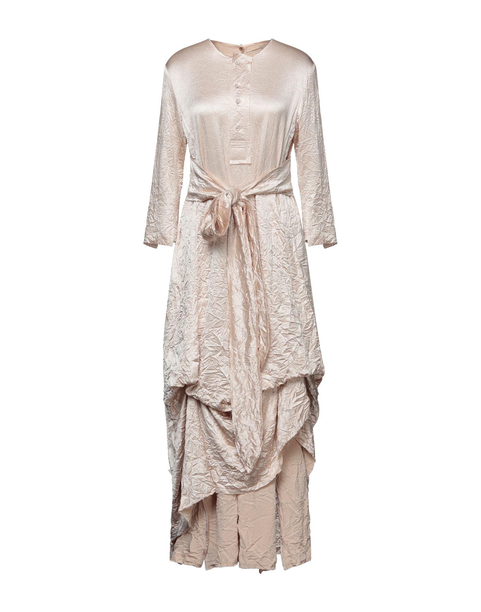 Aleksandr Manamïs Midi Dresses In Light Pink