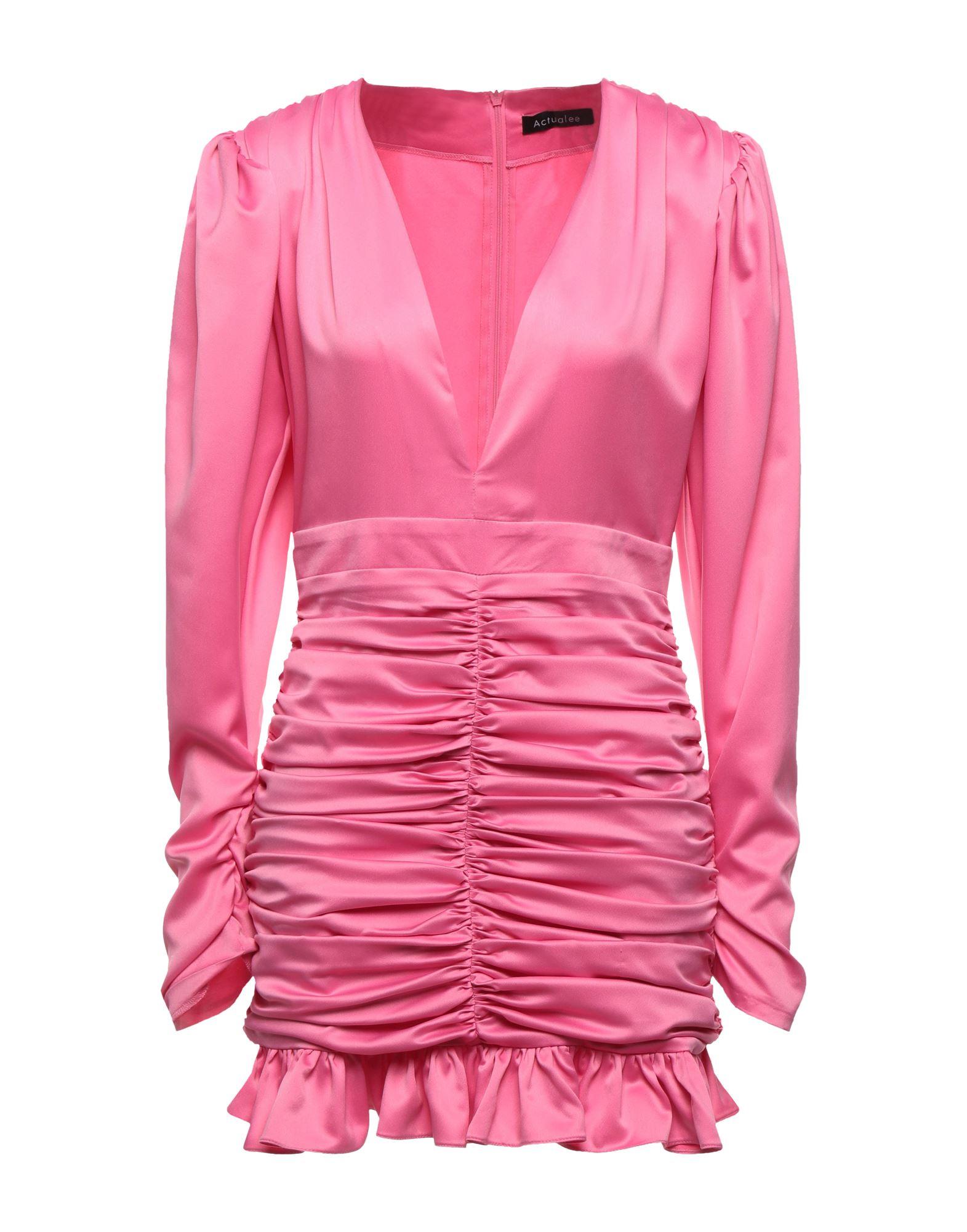Actualee Short Dresses In Pink