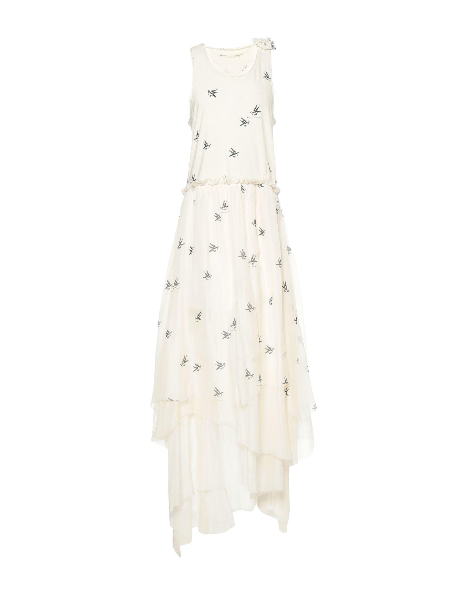 Aleksandr Manamïs Long Dresses In White