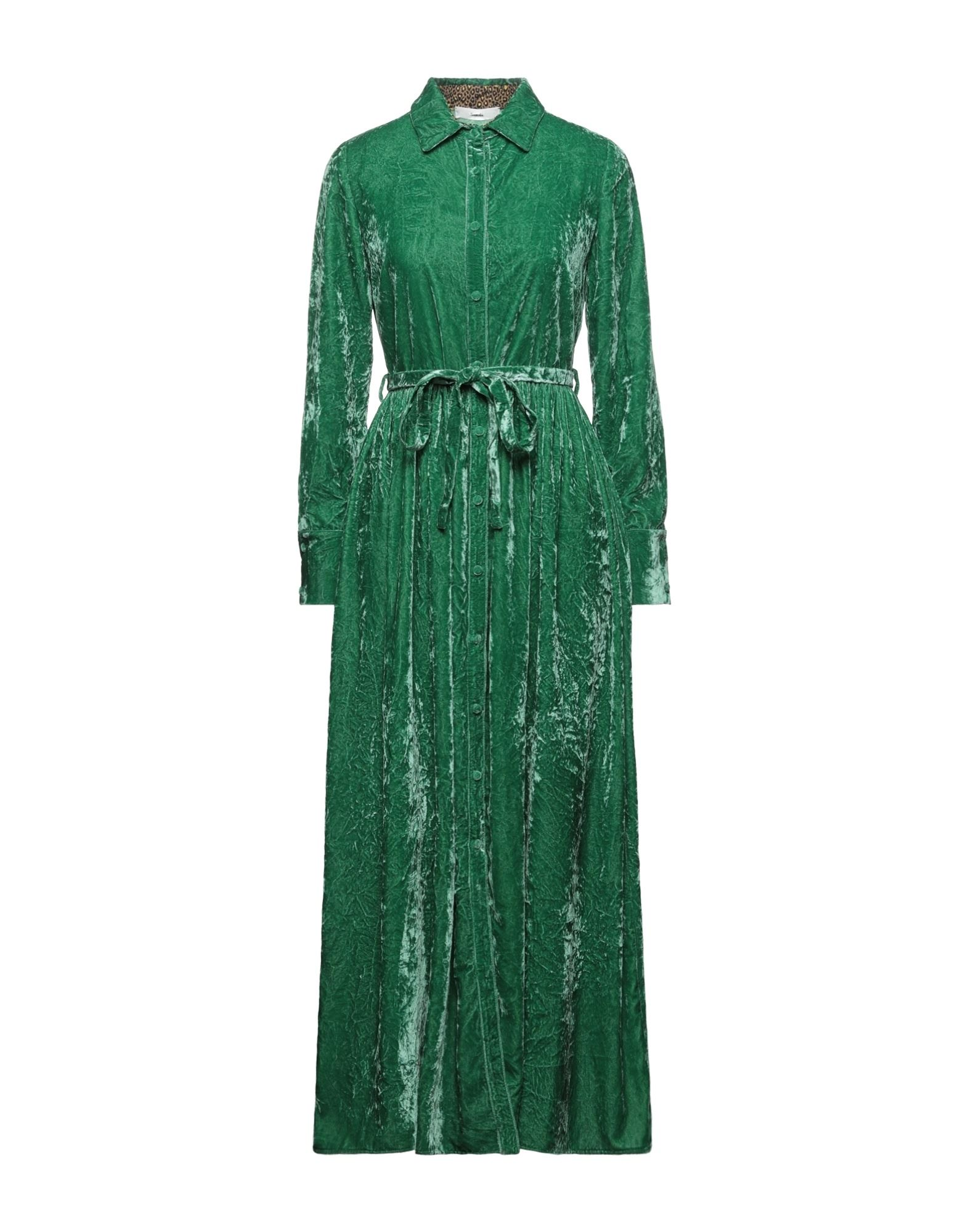 Suoli Long Dresses In Green