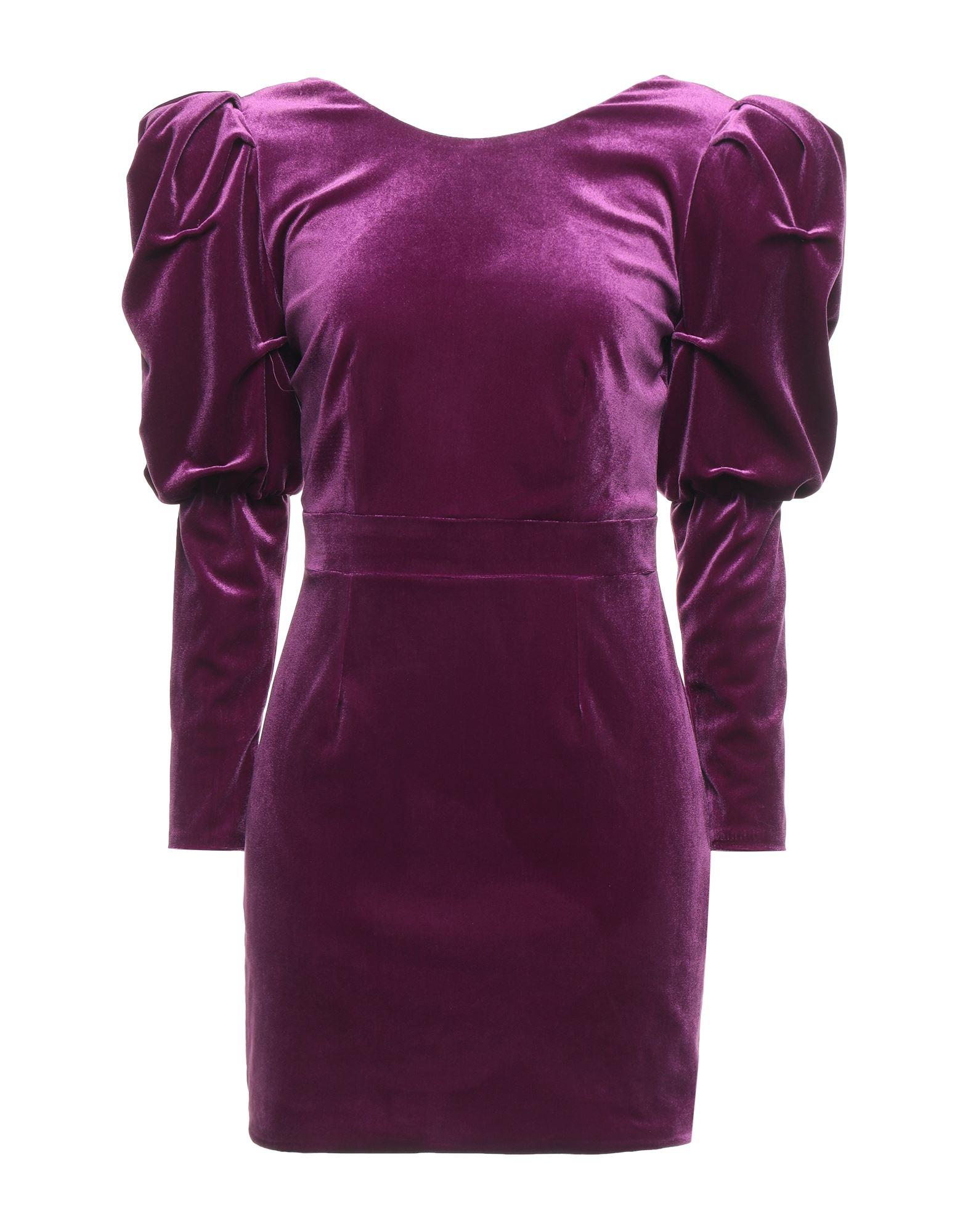 Actualee Short Dresses In Mauve
