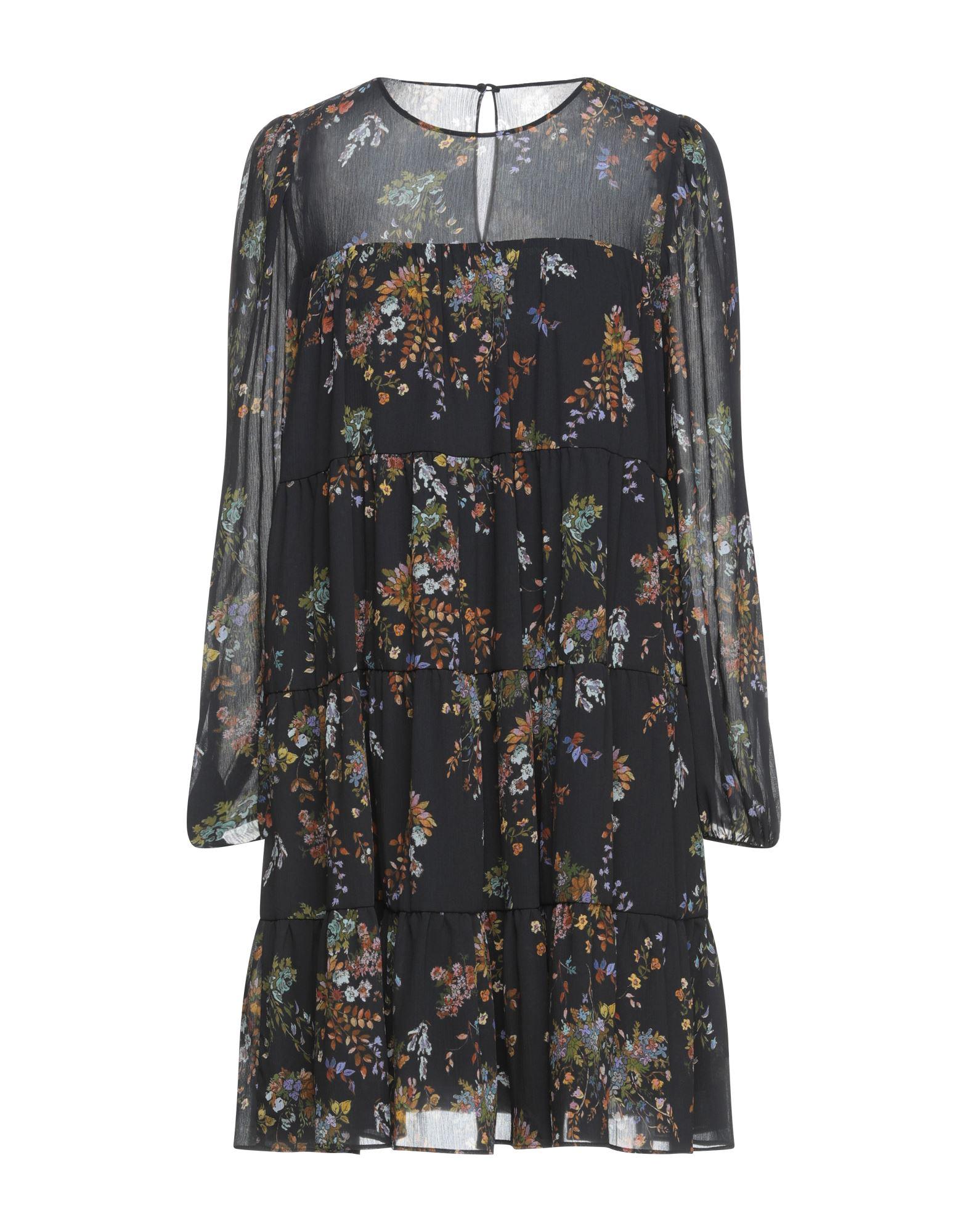 Suoli Short Dresses In Black