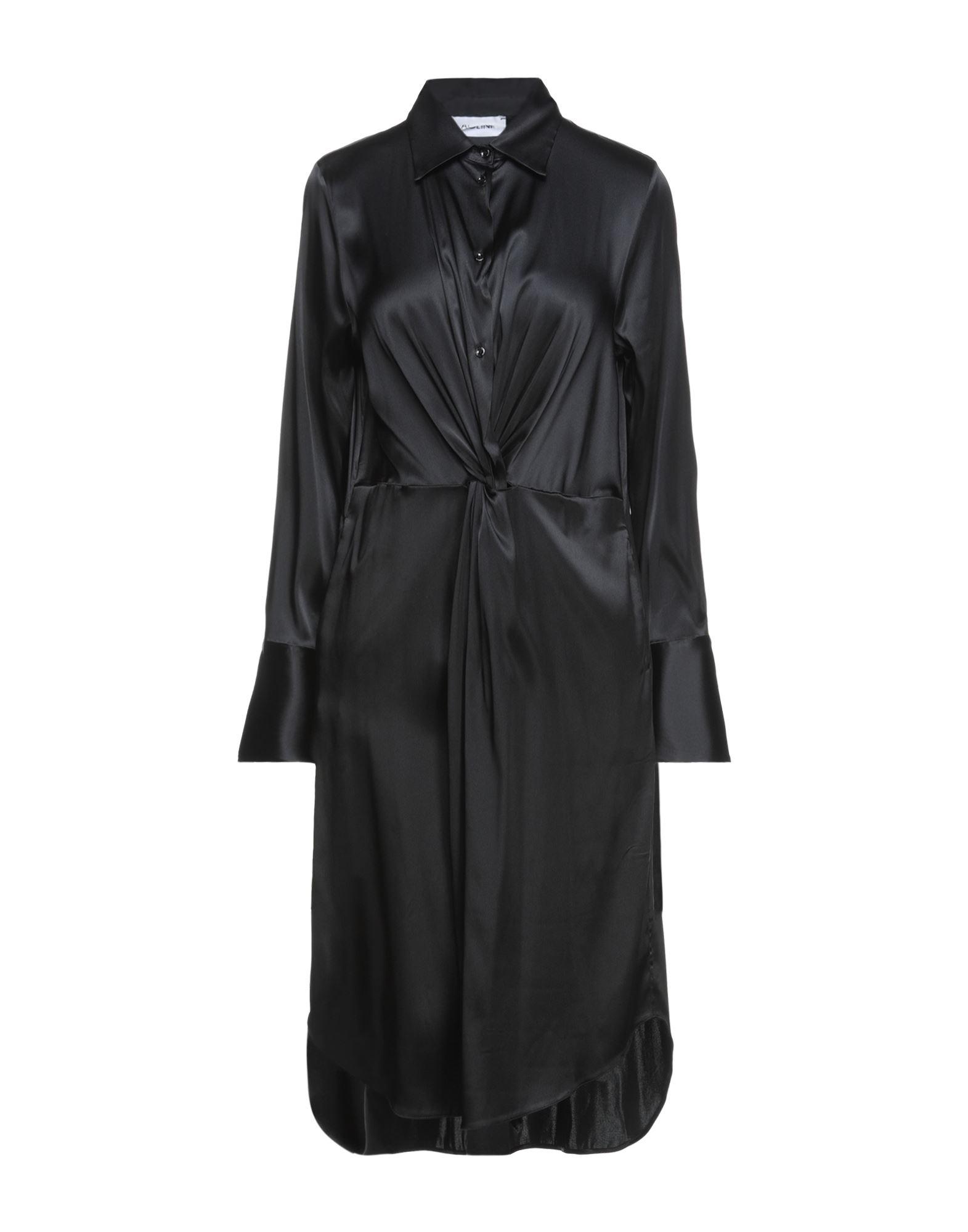 Aglini Knee-length Dresses In Black