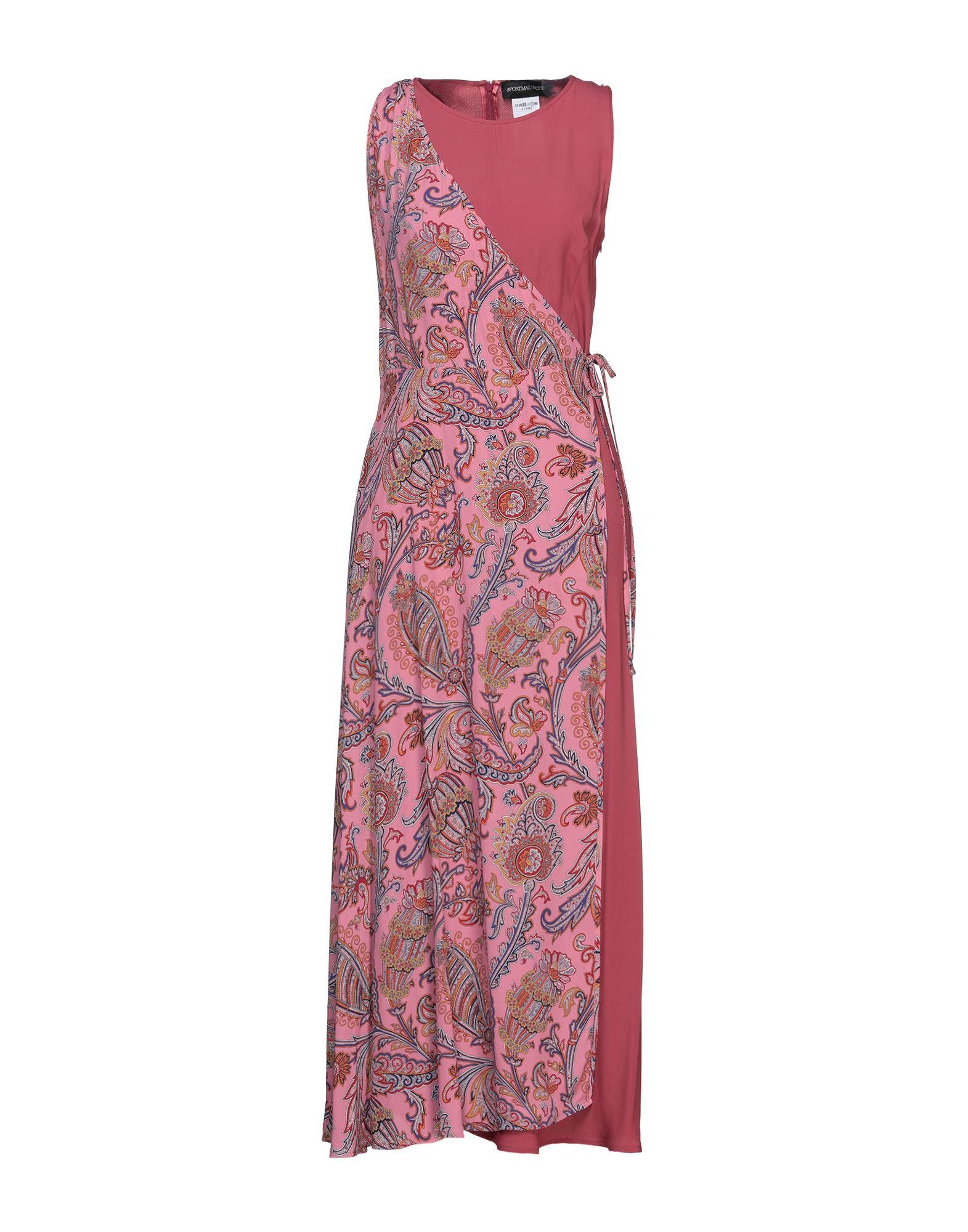 SPORTMAX CODE Длинное платье платье джинсовое code code co073ewbyzq0