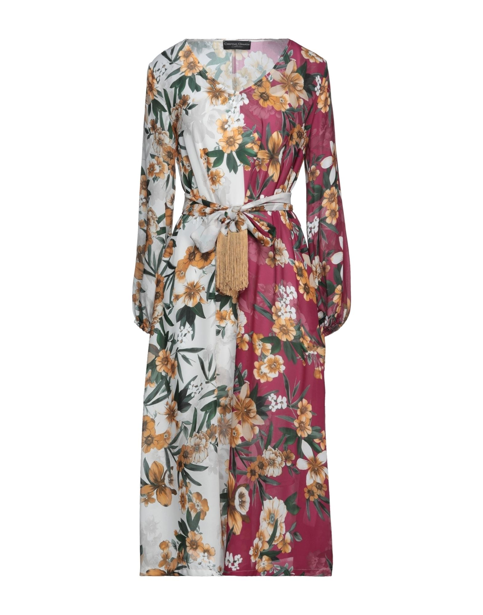 cristina gavioli collection длинное платье CRISTINA GAVIOLI Платье миди