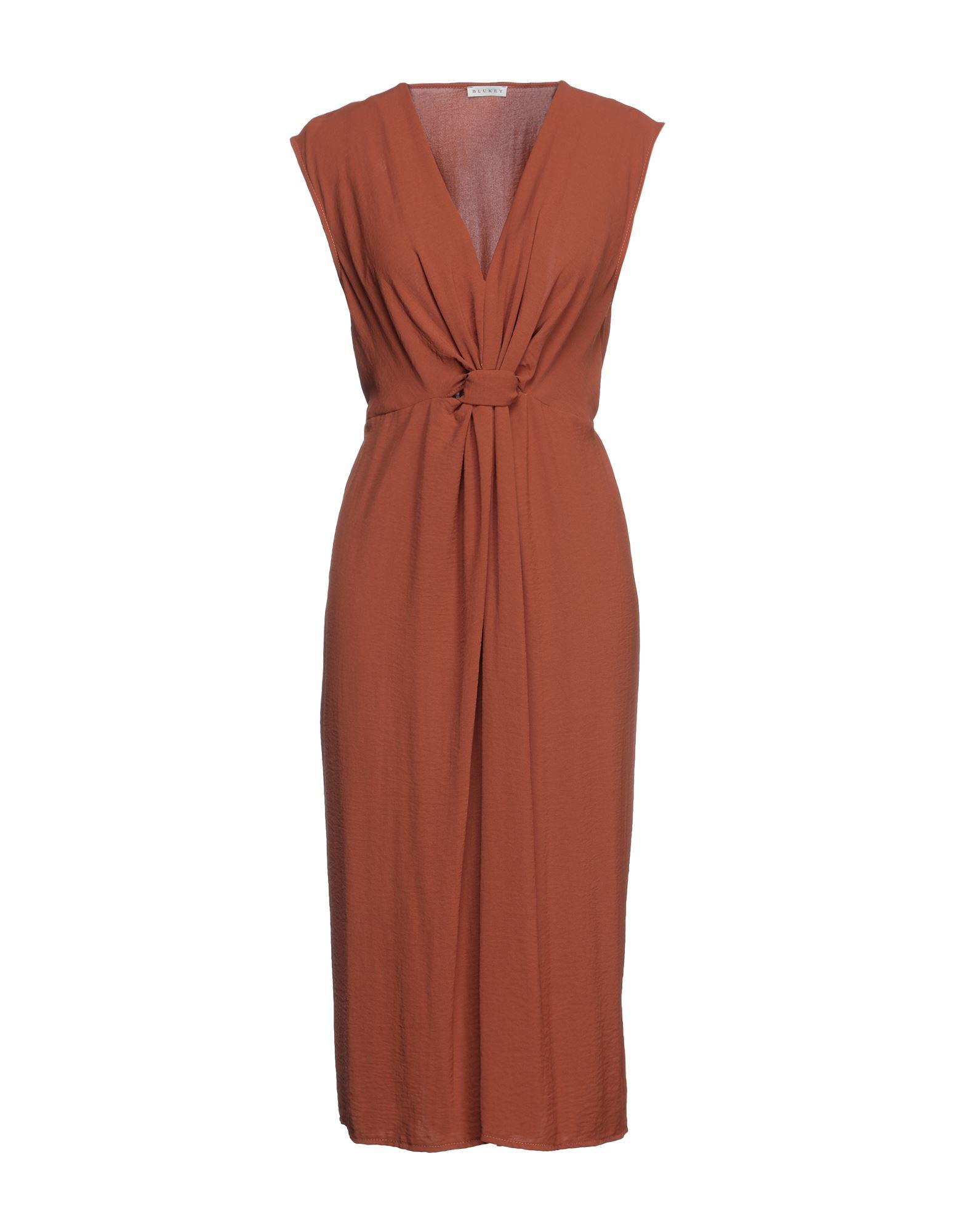 BLUKEY Платье длиной 3/4 blukey платье до колена