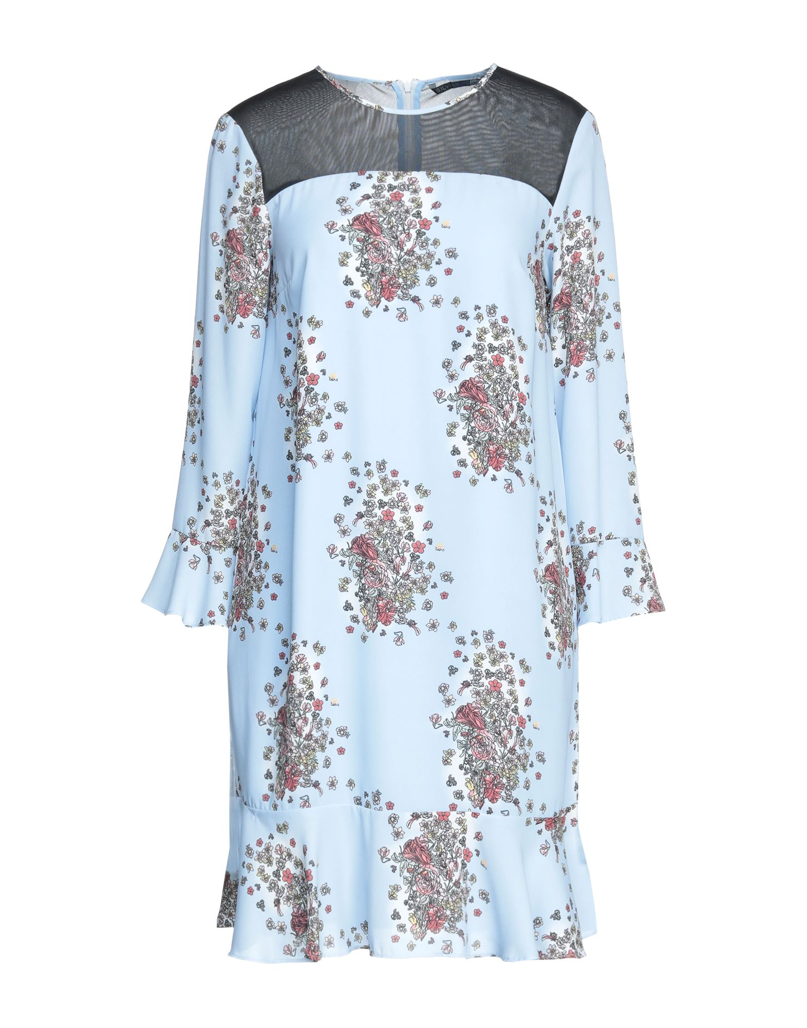 платье silvian heach silvian heach si386ewekpf2 SILVIAN HEACH Короткое платье
