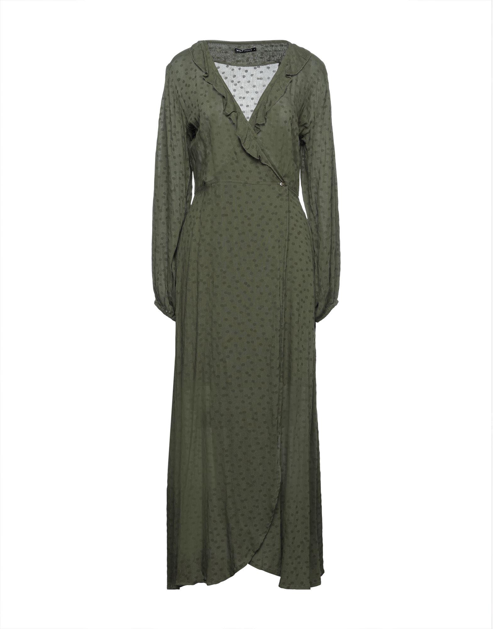 WILD PONY Длинное платье
