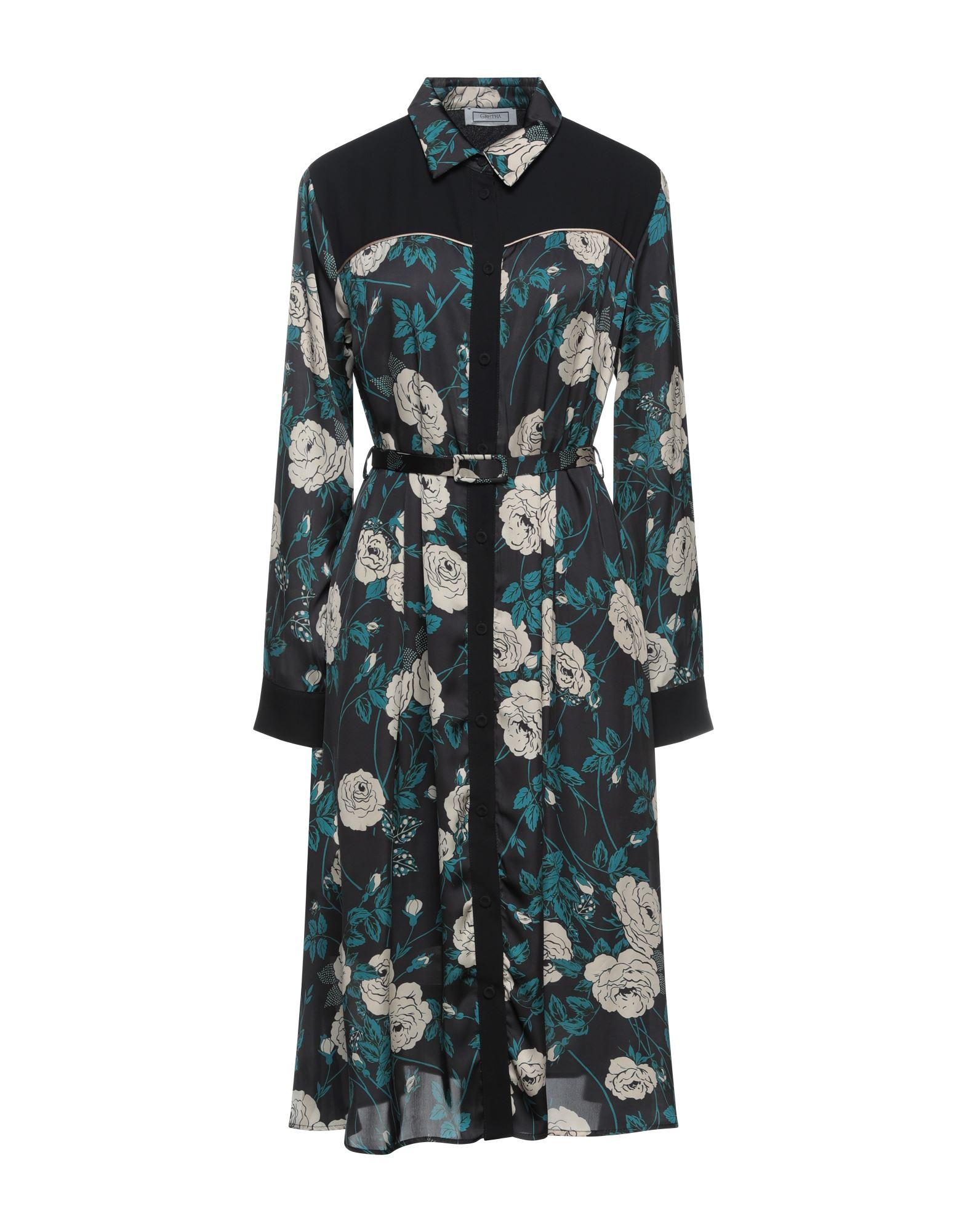 gretha milano блузка GRETHA Milano Платье миди