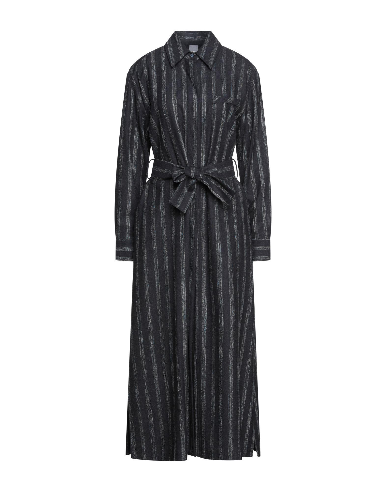 Lorena Antoniazzi Midi Dresses In Steel Grey