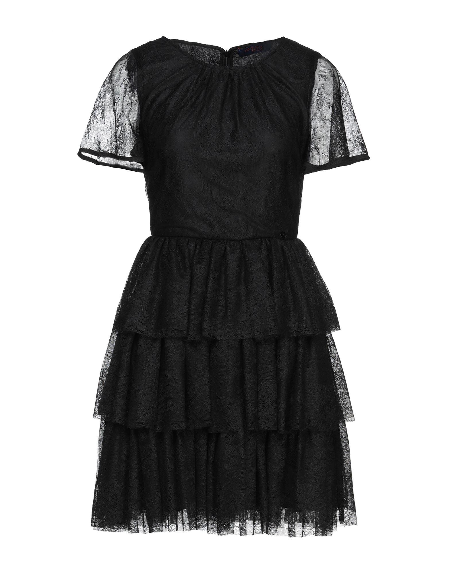 Фото - TRUSSARDI JEANS Короткое платье платье trussardi jeans платье