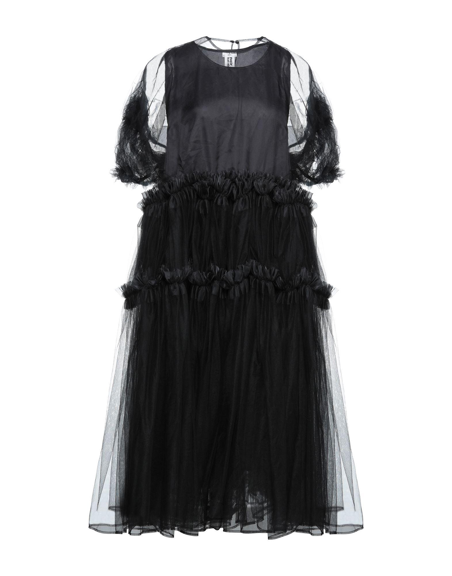 NOIR KEI NINOMIYA Длинное платье