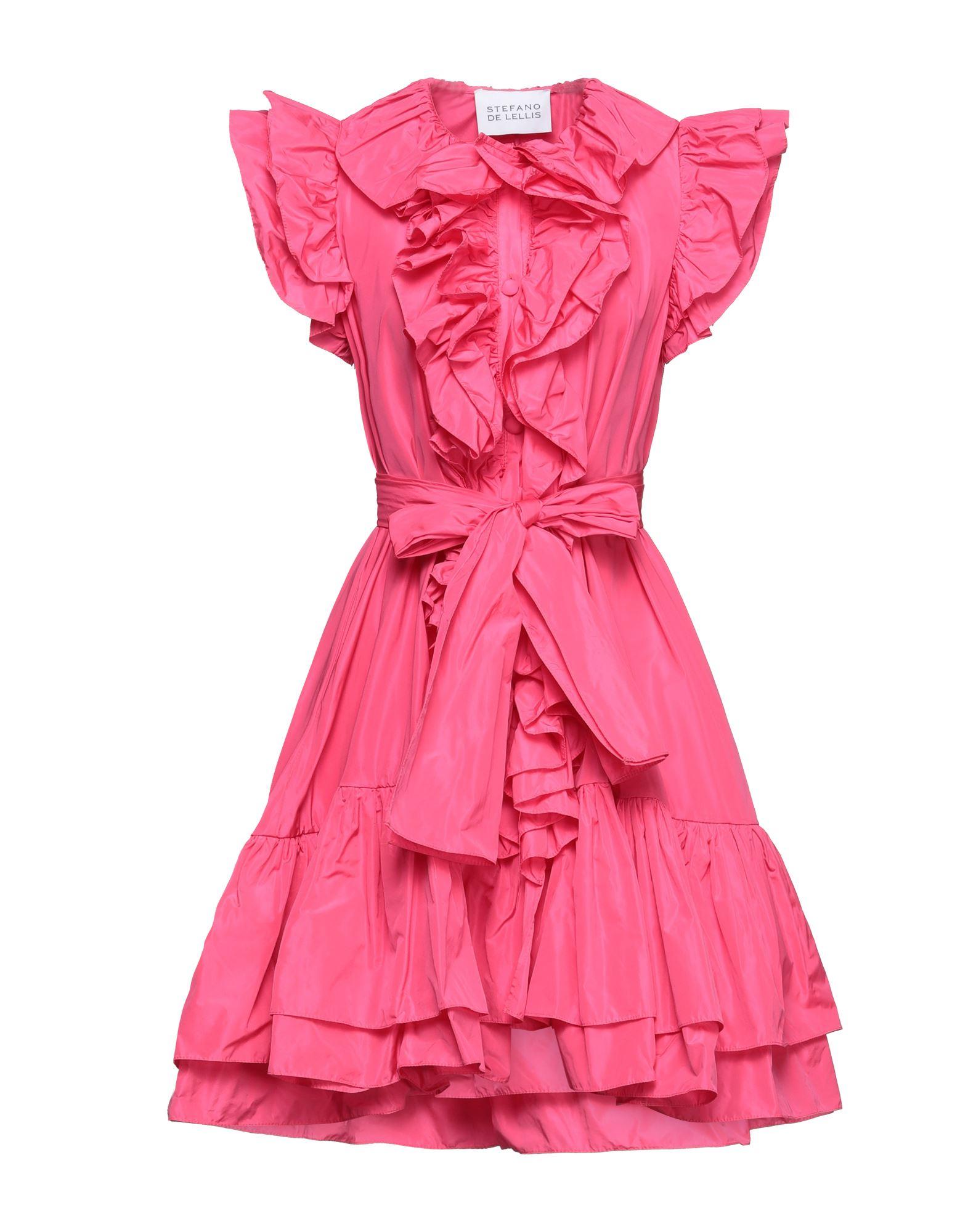 STEFANO DE LELLIS Короткое платье платок нагрудный stefano danotelli stefano danotelli mp002xm05qqz