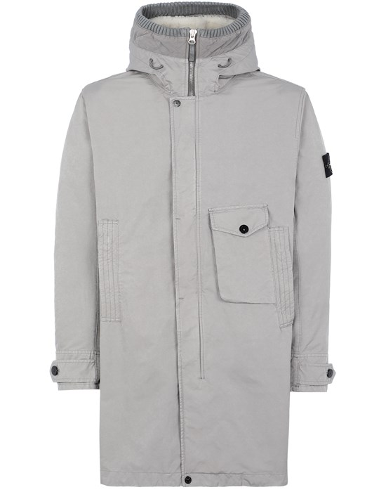 Mid-length jacket Man 70749 DAVID-TC_INTERNO STACCABILE Front STONE ISLAND