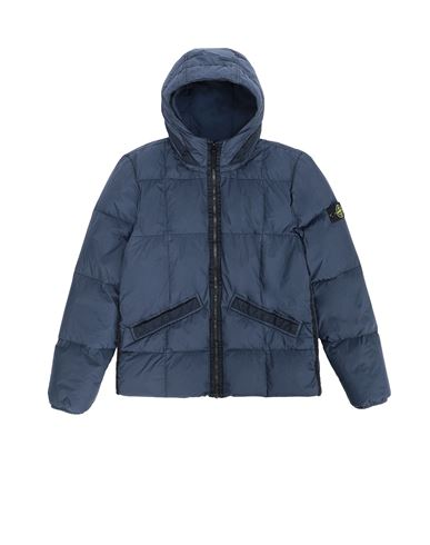 STONE ISLAND TEEN  Jacket Man Marine Blue USD 582