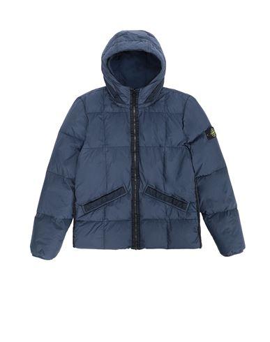 STONE ISLAND TEEN  Jacket Man Marine Blue USD 522