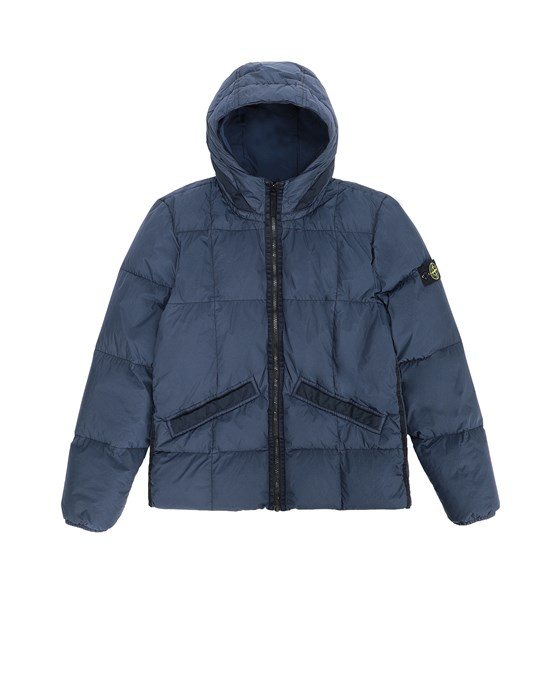 STONE ISLAND JUNIOR  Jacket Man Marine Blue