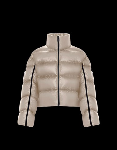 CALISTE Champagne Short Down Jackets Woman