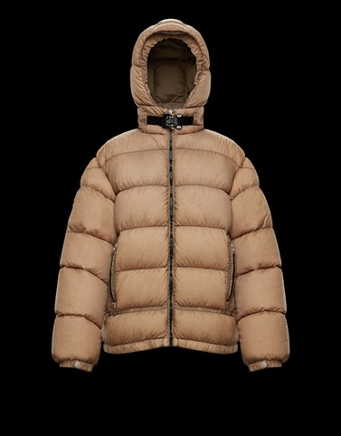 ALMOND Sand Short Down Jackets Woman
