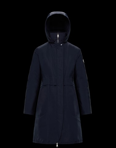 SCHEDAR Dark blue Category Raincoats Woman