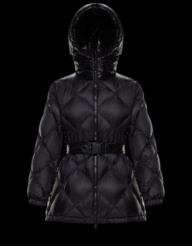 SARGAS Negro Categoría Abrigo largo Mujer