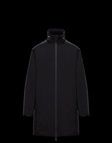 CHARTRES Black Category Long outerwear Man