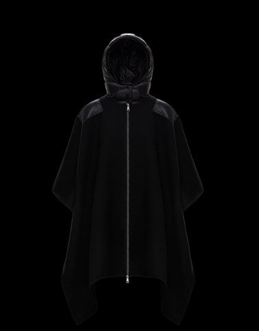CLOAK Black Category Capes Woman