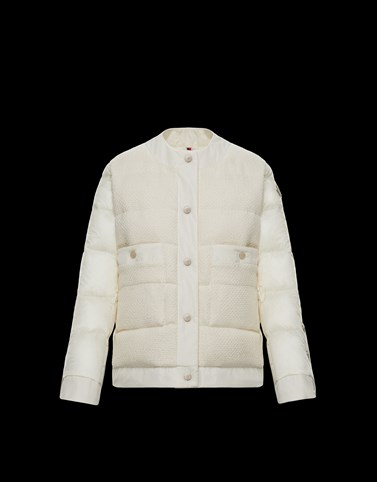 MIRAM White Category Short outerwear Woman