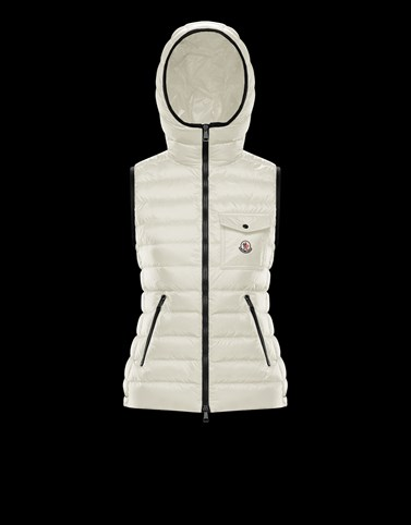 GLYCO White Category Waistcoats Woman